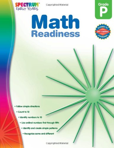 Math Readiness, Grade PK (Early Years)