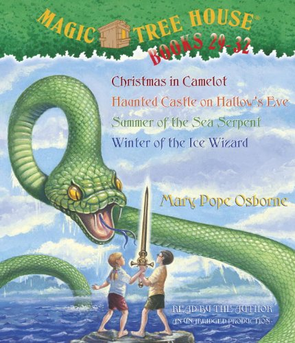 Magic Tree House: Books 29-32: #29 Christmas in Camelot; #30 Haunted Castle on Hallow's Eve; #31 Summer of the Sea Serpent; #32 Winter of the Ice Wizard (Audio CD) by Listening Library (Audio)
