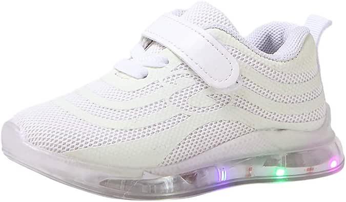 InueINND Zapatos con Luces Niña Zapatillas Deportivas Zapatos de Seguridad Calzado Niño Zapatillas Ciclismo Carretera Zapatos Fiesta: Amazon.es: Zapatos y complementos