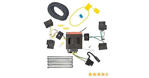 DRAW TITE 118551 T-One Connector with Upgraded Circuit Protected ModuLite Draw-Tite