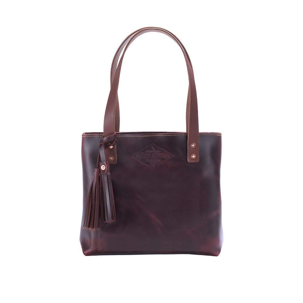 Leather Handbag Laptop Bag Gift for Her Small Brown Leather Tote Bag For Women Diaper Bag Small Leather Bag Handmade
