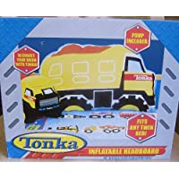 Tonka Brand Inflatable Dump Truck Twin Size Headboard Pump Included