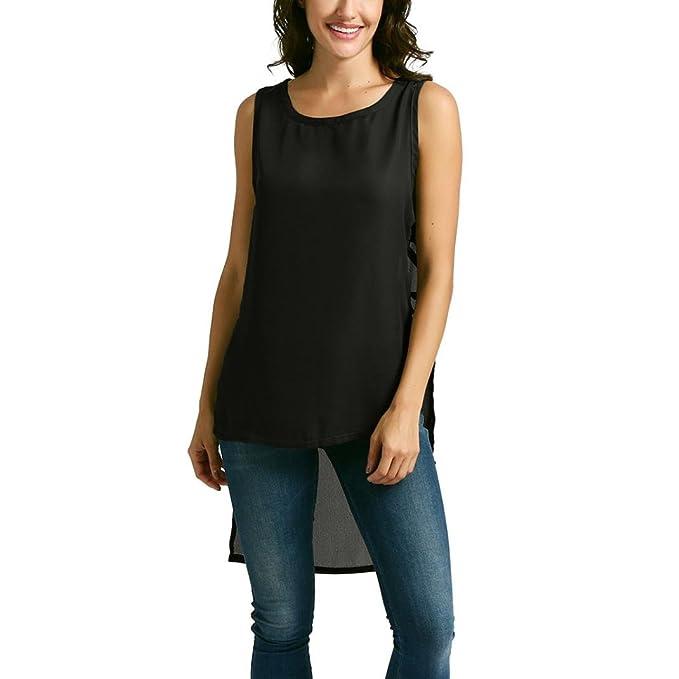 10f641583c Amazon.com  Lljin Womens Ladies Blouse Base Loose Tassel Casual Sweatshirt  Tee Tops T Shirt  Clothing