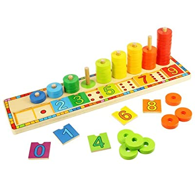Bigjigs Toys Learn To Count Puzzle by Bigjigs Toys