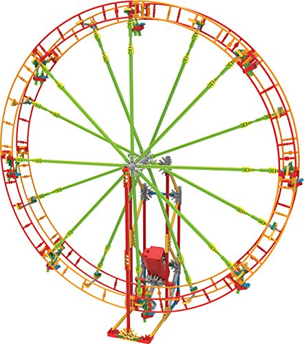 (K'NEX Revolution Ferris Wheel Building Set - 344 Pieces with Battery Powered Motor - Ages 7+ Engineering Education)
