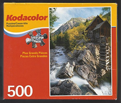 Kodacolor 500 Extra - Large Piece Puzzle Mill At Crystal River , - Colorado Shops Mills