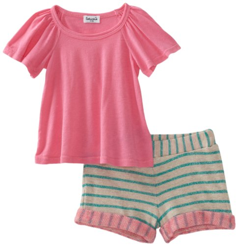 Splendid Littles Baby Girls' Loops Top And Short Set