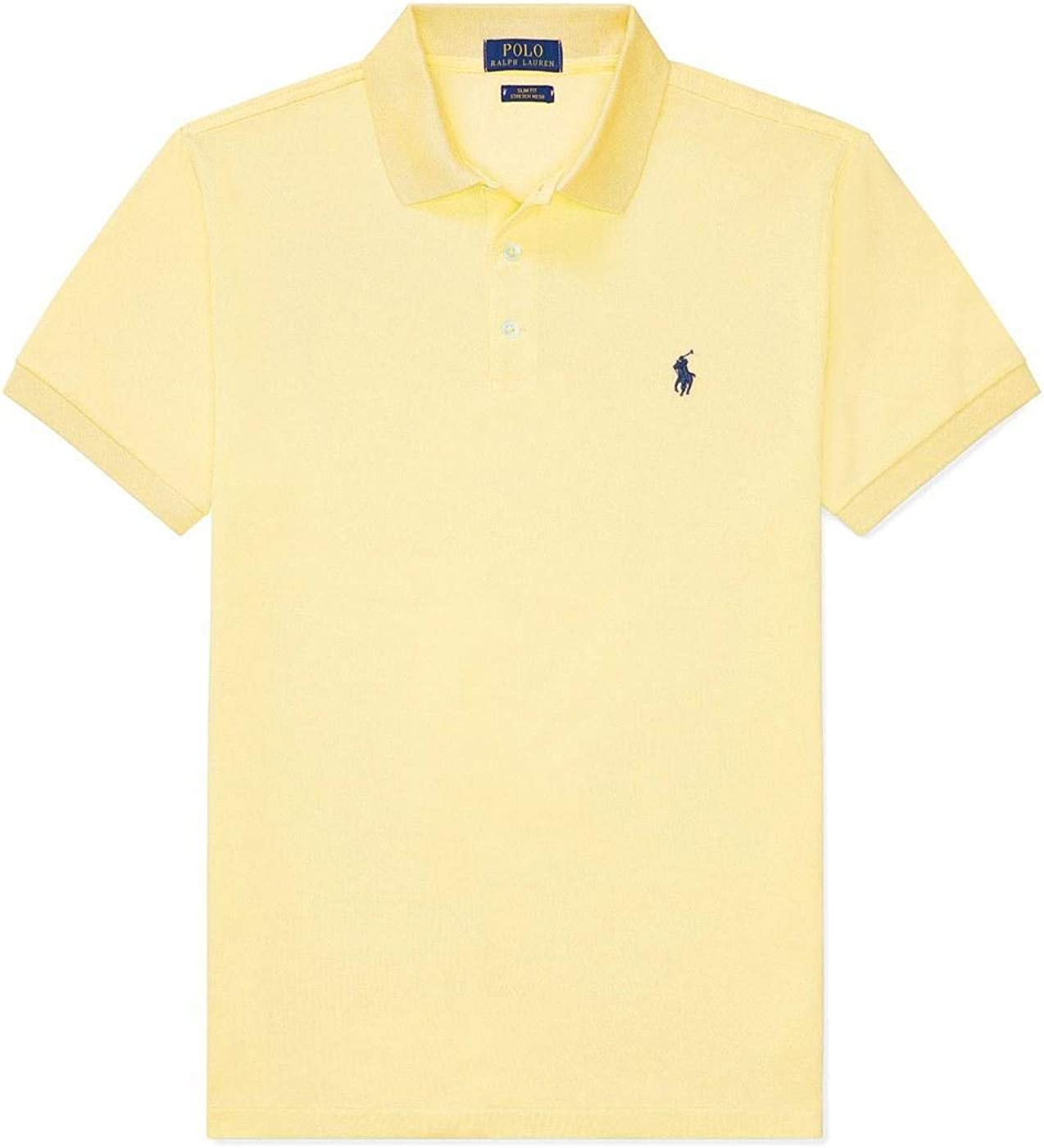 Polo Polo Ralph Lauren Custom Slim Amarillo Hombre XXL Amarillo ...