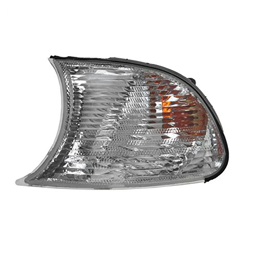 Clear Corner Parking Light Lens Left LH for 02-03 BMW 325CI 330CI 04-06 (Clear Corner Lenses Lights)