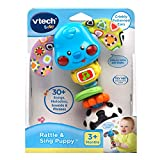 VTech Baby Rattle and Sing Puppy,Multicolor