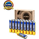 ALLMAX All-Powerful Alkaline Batteries- AAA (24-Pack), Ultra Long Lasting, Leak-Proof, 1.5V Cell