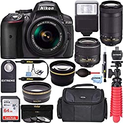 Image of the product Nikon D5300 242 MP DSLR that is listed on the catalogue brand of Accessory Zone.