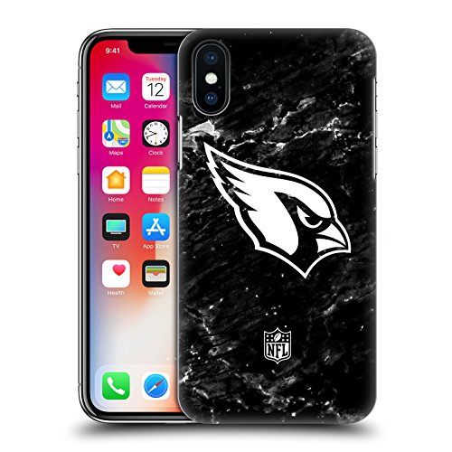 Official NFL Marble 2017/18 Arizona Cardinals Hard Back Case for iPhone X/iPhone ()