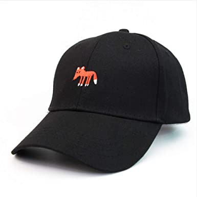 Knncch Red Fox Gorras Bordadas Amante Mujeres Golf Gorra De ...