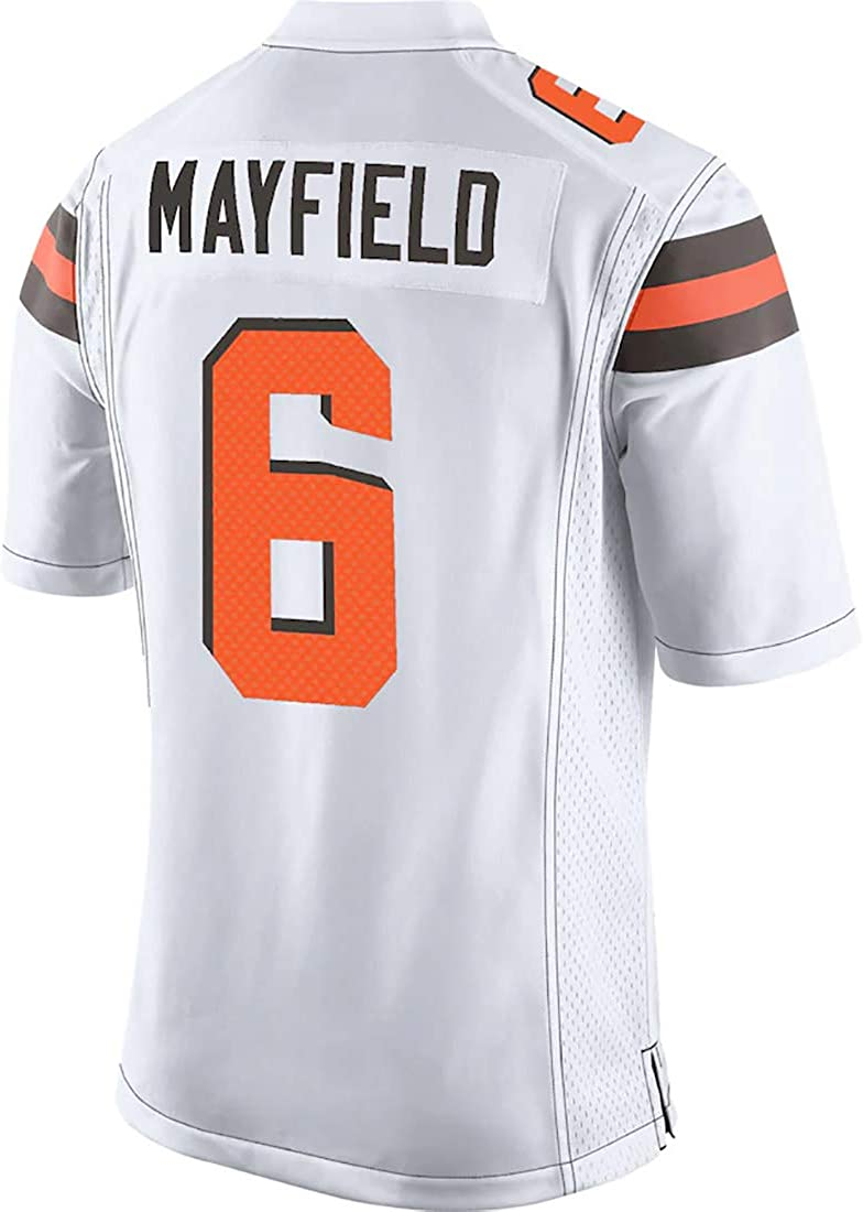 Outerstuff Baker Mayfield Cleveland Browns #6 Youth Player Name /& Number Game Jersey White