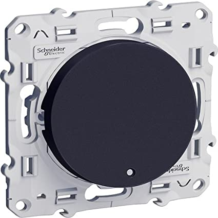 Interruptor basculante luminoso con LED de 230V cable 10A color blanco Schneider Electric SC5S52A263 Odace