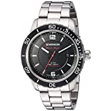 Wenger Men's 01.0851.122 Roadster Analog Display Swiss Quartz Silver Watch