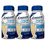 Ensure Vanilla Shake Nutrition Drink, 8 Oz. Bottle (Case Contains: 24 BOTTLES)