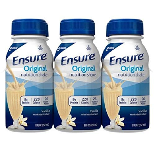 Cheap Ensure Vanilla Shake Nutrition Drink, 8 Oz. Bottle (Case Contains: 24 BOTTLES)