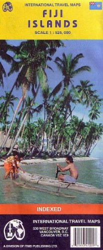 Fiji (Travel Reference Map)