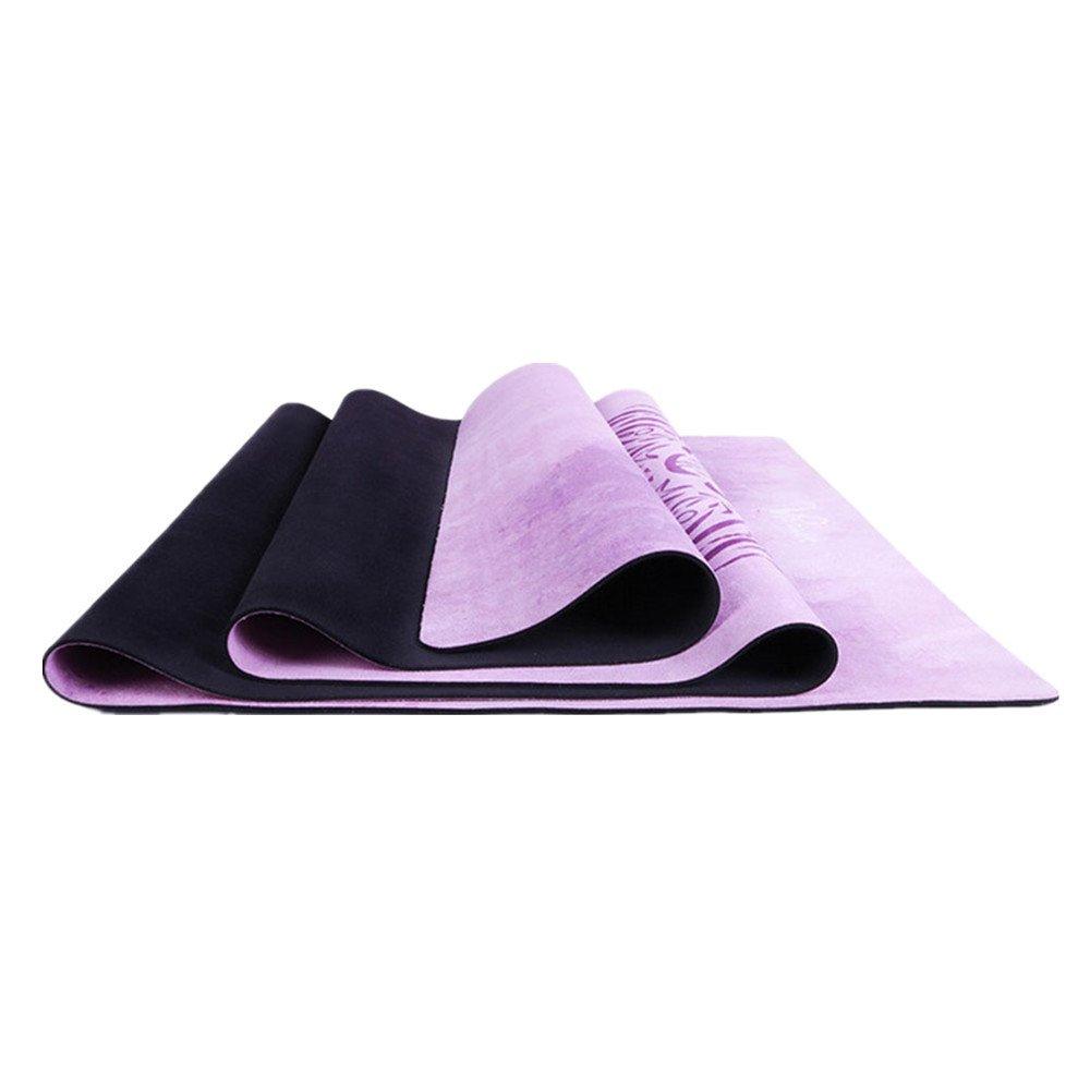 Techecho Yoga Matte Pu 5mm Umweltfreundliche Köstliche Fitness-Matte Yoga-Matte Für Gym Familie.