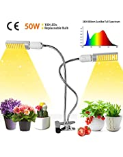 Niello 600W Double Chips LED Grow Light Full Spectrum Grow Lamp Plant Grow Lights Rope Hanger Daisy Chain Indoor Greenhouse Hydroponic Plants Growing