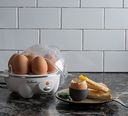 Bellemain ZDQ-70A UIUIUS Multi-Function Cooker Boils Eggs, Mak, 6.3 x 7.3 x 7.75 in in, White by Bellemain (Image #3)