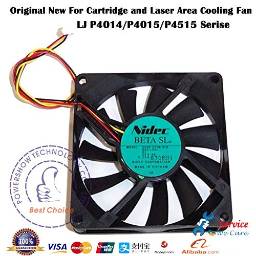 (Printer Parts Original New RK2-1991 Cartridge and Laser Scanner Cooling Fan for HP4015 P4515X HP4015N HP4014 HP4015 P4515 P4014 Series)