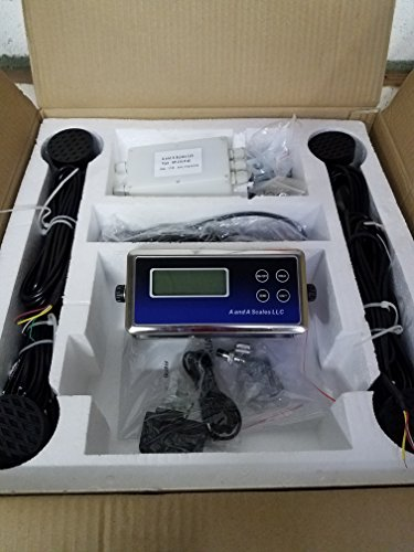 (A and A Scales FSK Livestock Scale Kit Build Your Own Scale at a Fraction of The Price)