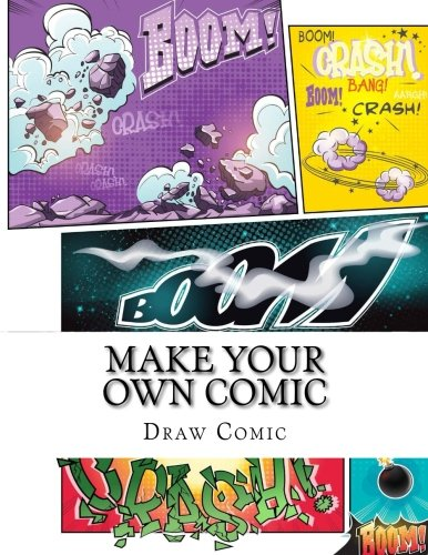 make-your-own-comic-activity-drawing-coloring-cartooning-books-volume-1