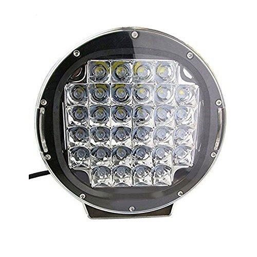 12 Burst Aluminum Round Outdoor Lights - 2