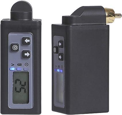 HAWINK Wireless Tattoo Battery Fuente de alimentación para tatuaje Recargable USB Pantalla digital 1500mAh Máquina ...