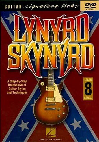 Lynyrd Skynyrd: Guitar Signature Licks (DVD). Para Guitarra ...