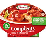 Hormel Microwavable Compleats Cheese Manicotti 10 oz (Pack of 6)
