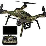 MightySkins Protective Vinyl Skin Decal for 3DR Solo Drone Quadcopter wrap cover sticker skins TrueTimberViper Woodland