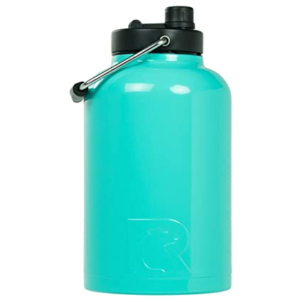 e0904f0a58f Amazon.com: RTIC One Gallon Vacuum Insulated Jug, Teal: Kitchen & Dining