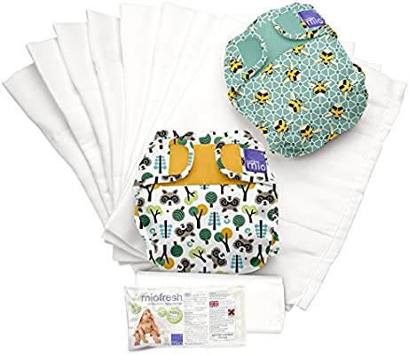 Bambino Mio, miosoft set de pañales de tela, mixed, talla 1 (<9 kg ...