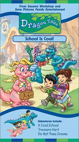 Dragon Tales - School is Cool [VHS] for $<!--$9.99-->
