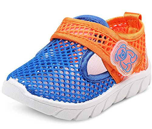 Image of DADAWEN Baby's Boy's Girl's Water Shoes Lightweight Breathable Mesh Running Sneakers Sandals