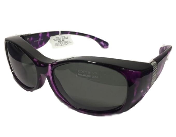 Haven FitsOver - Gafas de sol (tamaño grande, lentes grises ...