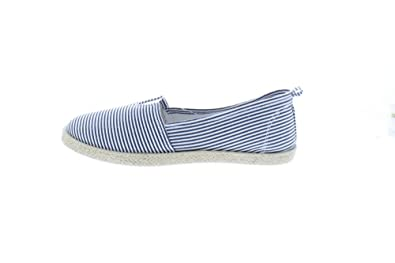 Gold Toe Womens Rani Canvas Alpargatas Espadrille Flat Casual Summer Style Comfy Slip On Walking Shoe