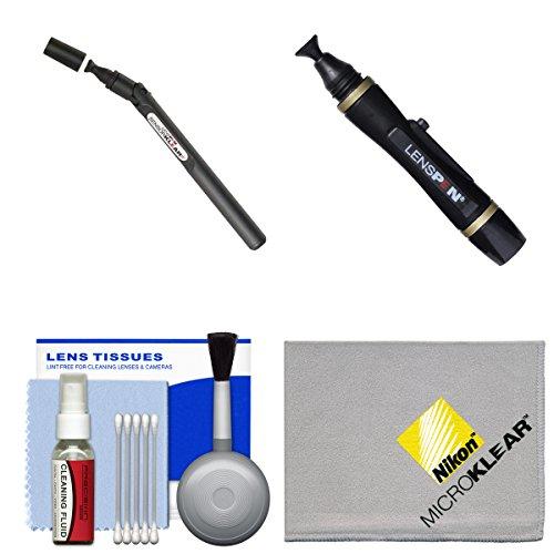 Lenspen SensorKlear II SENSOR Cleaning Pen with Kit for Nikon D3200, D3300, D5200, D5300, D7000, D7100, D610, D800, D810, D4s DSLR Cameras ()