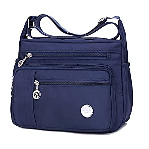 Crossbody Handbags Casual Shoulder Bags for Women Waterproof Nylon Messenger Bags