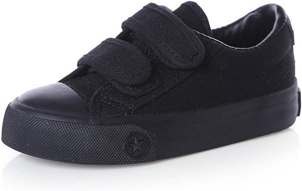 O/&N Kids Boys Girls Classic Canvas Slip-On Skate Shoe Sneakers