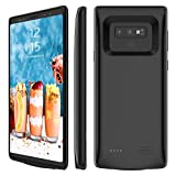 Galaxy Note 9 Battery Case, Stoon 5000mAh Portable Charger Case Rechargeable Extended Battery Pack Protective Backup Charging Case Cover for Samsung Galaxy Note 9(6.4 Inch) (black)