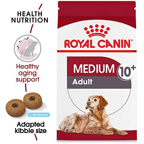 Royal Canin Size Health Nutrition Medium Aging 10+ Dry Dog Food, 30-Pound