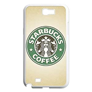Samsung Galaxy N2 7100 Cell Phone Case White Starbucks 4 upss