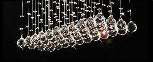 Contemporary Modern Crystal Rain Drop Chandelier Lighting Flush – Raindrop Chandelier Crystals