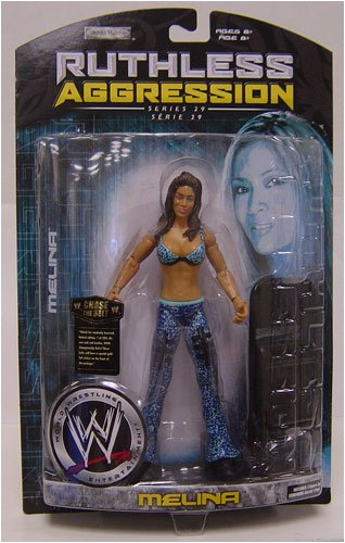 WWE Wrestling Ruthless Aggression Series 29 Action Figure Melina by WWE