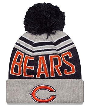 cab7f1dc934 NFL New Era Chicago Bears Winter Blaze Pom Knit Beanie Cuffed Hat Toque  Blue
